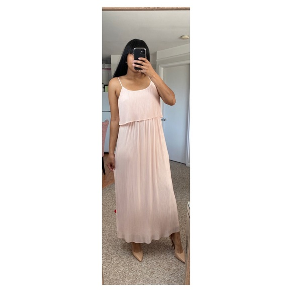 LC Lauren Conrad Pastel Pink Maxi Dress